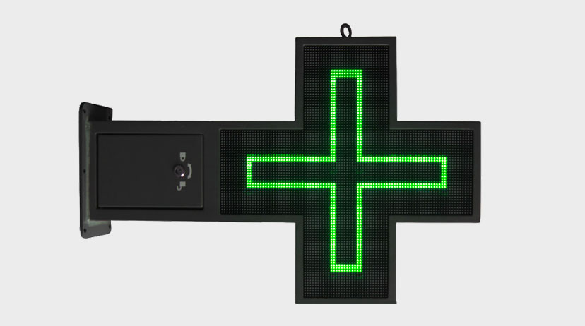 cois de pharmacie digitale led